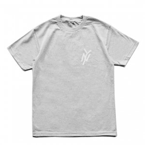 <img class='new_mark_img1' src='https://img.shop-pro.jp/img/new/icons5.gif' style='border:none;display:inline;margin:0px;padding:0px;width:auto;' />5BORO NY MONOGRAM TEE / HEATHER GREY (ファイブボロ/Tシャツ)
