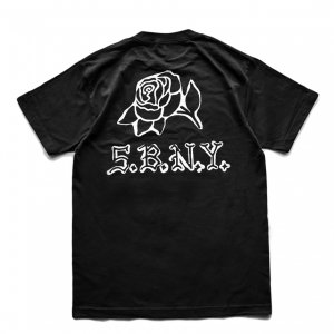 <img class='new_mark_img1' src='https://img.shop-pro.jp/img/new/icons5.gif' style='border:none;display:inline;margin:0px;padding:0px;width:auto;' />5BORO DIY ROSE TEE / BLACK (ファイブボロ/Tシャツ)