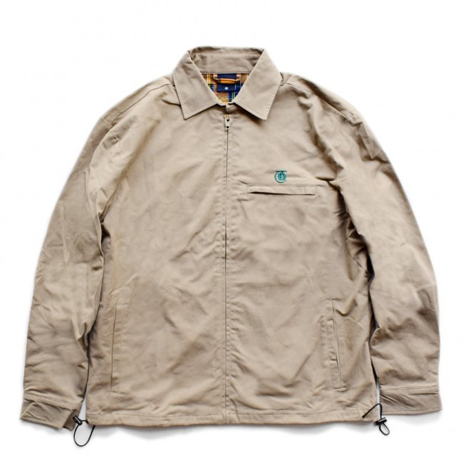 <img class='new_mark_img1' src='https://img.shop-pro.jp/img/new/icons5.gif' style='border:none;display:inline;margin:0px;padding:0px;width:auto;' />THEORIES LANTERN CLUB JACKET / BRITISH KHAKI(セオリーズ クラブジャケット)