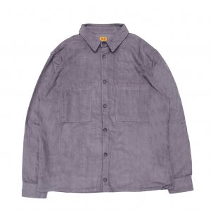 <img class='new_mark_img1' src='//img.shop-pro.jp/img/new/icons5.gif' style='border:none;display:inline;margin:0px;padding:0px;width:auto;' />WKND MAJOR CORD BUTTON SHIRT/ SLATE BLUE (ウィークエンド コーデュロイ長袖シャツ)