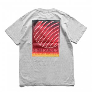 <img class='new_mark_img1' src='//img.shop-pro.jp/img/new/icons5.gif' style='border:none;display:inline;margin:0px;padding:0px;width:auto;' />HELLRAZOR INDEPENDENCE POCKET T-SHIRT / GREY (ヘルレイザー Tシャツ)