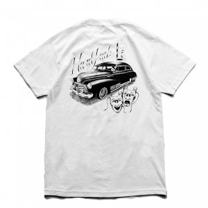 <img class='new_mark_img1' src='https://img.shop-pro.jp/img/new/icons5.gif' style='border:none;display:inline;margin:0px;padding:0px;width:auto;' />HARDLUCK RIDE NOW TEE / WHITE (ハードラック Tシャツ)