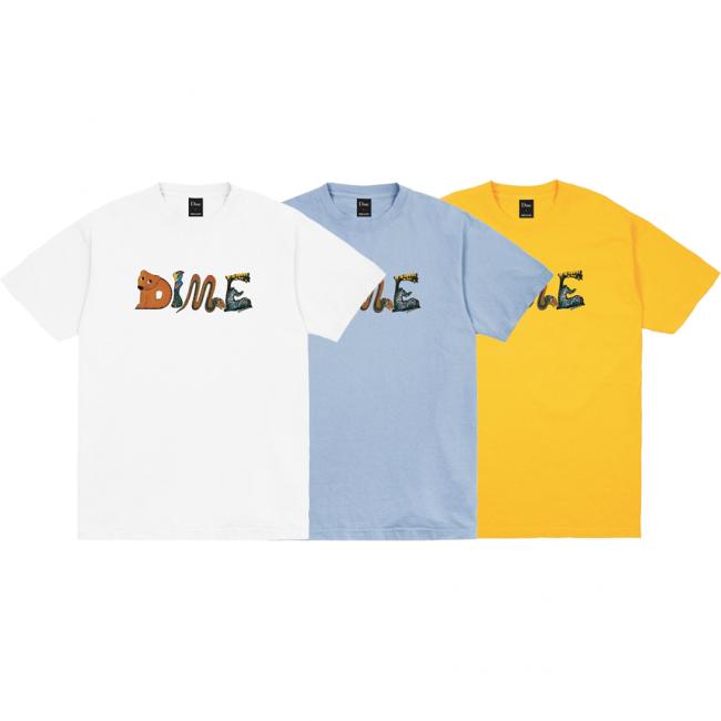 DIME Zoo T-SHIRT (ダイム Tシャツ / 半袖)