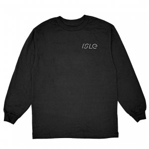 <img class='new_mark_img1' src='https://img.shop-pro.jp/img/new/icons5.gif' style='border:none;display:inline;margin:0px;padding:0px;width:auto;' />ISLE PAVEMENT L/S T-SHIRT / BLACK (アイル 長袖 / ロングスリーブ Tシャツ)