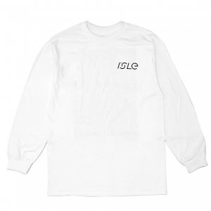 <img class='new_mark_img1' src='https://img.shop-pro.jp/img/new/icons5.gif' style='border:none;display:inline;margin:0px;padding:0px;width:auto;' />ISLE PAVEMENT L/S T-SHIRT / WHITE (アイル 長袖 / ロングスリーブ Tシャツ)