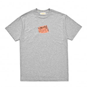 <img class='new_mark_img1' src='https://img.shop-pro.jp/img/new/icons5.gif' style='border:none;display:inline;margin:0px;padding:0px;width:auto;' />HORRIBLE'S MEMO T-SHIRT / HEATHER GREY (ホリブルズ Tシャツ)