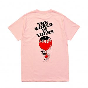 <img class='new_mark_img1' src='https://img.shop-pro.jp/img/new/icons5.gif' style='border:none;display:inline;margin:0px;padding:0px;width:auto;' />HORRIBLE'S YOURS T-SHIRT / LIGHT PINK (ホリブルズ Tシャツ)