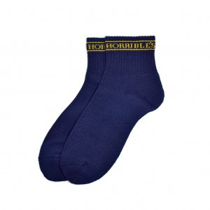 <img class='new_mark_img1' src='https://img.shop-pro.jp/img/new/icons5.gif' style='border:none;display:inline;margin:0px;padding:0px;width:auto;' />HORRIBLE'S QUEEN 2PAIR SOCKS / NAVY (ホリブルズ ソックス)