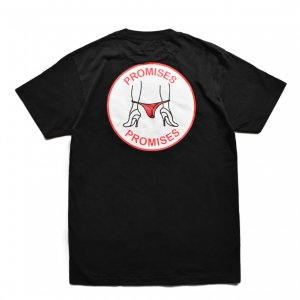 <img class='new_mark_img1' src='//img.shop-pro.jp/img/new/icons5.gif' style='border:none;display:inline;margin:0px;padding:0px;width:auto;' />Good Worth & Co. PROMISES TEE / BLACK (グッドワース Tシャツ)
