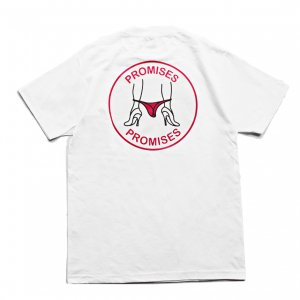 <img class='new_mark_img1' src='//img.shop-pro.jp/img/new/icons5.gif' style='border:none;display:inline;margin:0px;padding:0px;width:auto;' />Good Worth & Co. PROMISES TEE / WHITE (グッドワース Tシャツ)