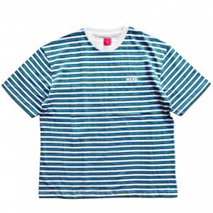 <img class='new_mark_img1' src='https://img.shop-pro.jp/img/new/icons5.gif' style='border:none;display:inline;margin:0px;padding:0px;width:auto;' />WKND STRIPE TEE / MULTI STRIPE (ウィークエンド Tシャツ)