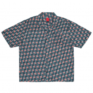 <img class='new_mark_img1' src='https://img.shop-pro.jp/img/new/icons5.gif' style='border:none;display:inline;margin:0px;padding:0px;width:auto;' />WKND DISCO ROMEO SHIRT / GREY (ウィークエンド 半袖シャツ)