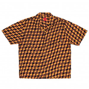 <img class='new_mark_img1' src='https://img.shop-pro.jp/img/new/icons5.gif' style='border:none;display:inline;margin:0px;padding:0px;width:auto;' />WKND DISCO ROMEO SHIRT / YELLOW (ウィークエンド 半袖シャツ)