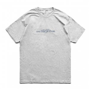 <img class='new_mark_img1' src='https://img.shop-pro.jp/img/new/icons5.gif' style='border:none;display:inline;margin:0px;padding:0px;width:auto;' />DAY LIQUOR STORE OG LOGO TEE / H.GREY (デイリカーストアー Tシャツ)