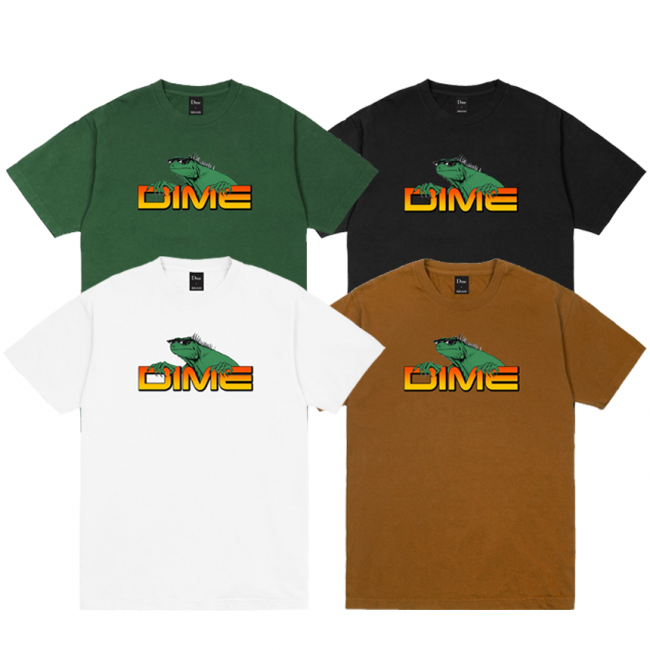 <img class='new_mark_img1' src='https://img.shop-pro.jp/img/new/icons5.gif' style='border:none;display:inline;margin:0px;padding:0px;width:auto;' />DIME Lizard T-SHIRT (ダイム Tシャツ / 半袖)