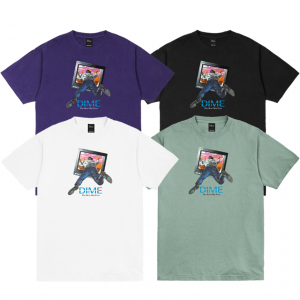 <img class='new_mark_img1' src='https://img.shop-pro.jp/img/new/icons5.gif' style='border:none;display:inline;margin:0px;padding:0px;width:auto;' />DIME TV T-SHIRT (ダイム Tシャツ / 半袖)
