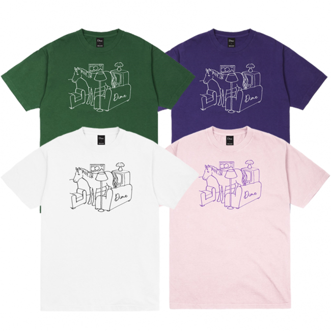 <img class='new_mark_img1' src='https://img.shop-pro.jp/img/new/icons5.gif' style='border:none;display:inline;margin:0px;padding:0px;width:auto;' />DIME Horse T-SHIRT (ダイム Tシャツ / 半袖)