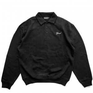 <img class='new_mark_img1' src='https://img.shop-pro.jp/img/new/icons5.gif' style='border:none;display:inline;margin:0px;padding:0px;width:auto;' />GRAND COLLECTION COLLAR CREWNECK / BLACK (グランドコレクション スウェット/パーカー)