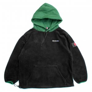 <img class='new_mark_img1' src='https://img.shop-pro.jp/img/new/icons5.gif' style='border:none;display:inline;margin:0px;padding:0px;width:auto;' />Hellrazor FLEECE PARKA / GREEN×BLACK (ヘルレイザー フリースパーカー/フーディ)