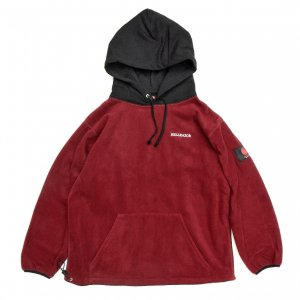 <img class='new_mark_img1' src='https://img.shop-pro.jp/img/new/icons5.gif' style='border:none;display:inline;margin:0px;padding:0px;width:auto;' />Hellrazor FLEECE PARKA / RED×BLACK (ヘルレイザー フリースパーカー/フーディ)