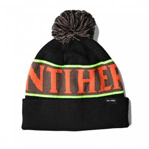 <img class='new_mark_img1' src='https://img.shop-pro.jp/img/new/icons5.gif' style='border:none;display:inline;margin:0px;padding:0px;width:auto;' />ANTIHERO BLACKHERO POM POM BEANIE / BLACK /MULTI (アンチヒーロー/ キャップ)
