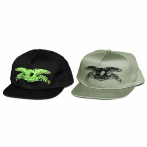 <img class='new_mark_img1' src='https://img.shop-pro.jp/img/new/icons5.gif' style='border:none;display:inline;margin:0px;padding:0px;width:auto;' />ANTIHERO BASIC EAGLE SNAPBACK CAP (アンチヒーロー/ キャップ)