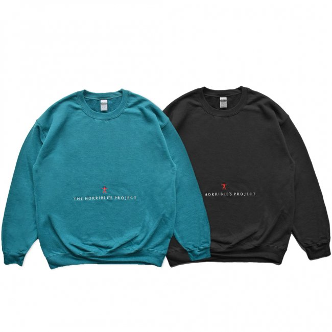 <img class='new_mark_img1' src='https://img.shop-pro.jp/img/new/icons5.gif' style='border:none;display:inline;margin:0px;padding:0px;width:auto;' />HORRIBLE'S PROJECT WITCH CREWNECK SWEAT /  (ホリブルズ プロジェクト クルーネック スウェット)