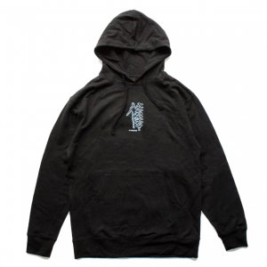 <img class='new_mark_img1' src='https://img.shop-pro.jp/img/new/icons5.gif' style='border:none;display:inline;margin:0px;padding:0px;width:auto;' />THEORIES GRID WALKER PULLOVER HOODIE / BLACK (セオリーズ フーディー/パーカー)