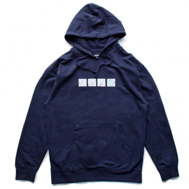 <img class='new_mark_img1' src='https://img.shop-pro.jp/img/new/icons5.gif' style='border:none;display:inline;margin:0px;padding:0px;width:auto;' />THEORIES ALONE AGAIN PULLOVER HOODIE / NAVY (セオリーズ フーディー/パーカー)