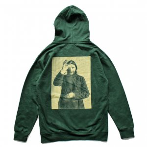 <img class='new_mark_img1' src='//img.shop-pro.jp/img/new/icons5.gif' style='border:none;display:inline;margin:0px;padding:0px;width:auto;' />THEORIES RASPUTIN PULLOVER HOODIE / FOREST GREEN (セオリーズ フーディー/パーカー)