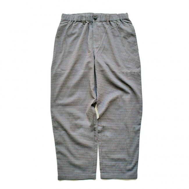 <img class='new_mark_img1' src='https://img.shop-pro.jp/img/new/icons5.gif' style='border:none;display:inline;margin:0px;padding:0px;width:auto;' />THEORIES STAMP LOUNGE PANT / BLUE & BROWN CHECK(セオリーズ イージーパンツ)