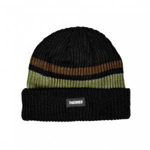 <img class='new_mark_img1' src='https://img.shop-pro.jp/img/new/icons5.gif' style='border:none;display:inline;margin:0px;padding:0px;width:auto;' />THEORIES COLORBLOCK BEANIE / MOCHA (セオリーズ ビーニー/ニットキャップ)
