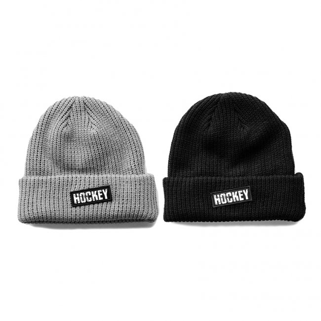<img class='new_mark_img1' src='https://img.shop-pro.jp/img/new/icons5.gif' style='border:none;display:inline;margin:0px;padding:0px;width:auto;' />HOCKEY AT EASE BEANIE / (ホッキー ビーニー/ニットキャップ)