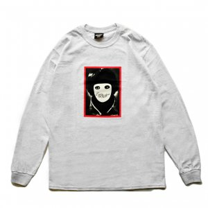 <img class='new_mark_img1' src='https://img.shop-pro.jp/img/new/icons5.gif' style='border:none;display:inline;margin:0px;padding:0px;width:auto;' />HOCKEY NO FACE L/S TEE / GREY HEATHER (ホッキー 長袖Tシャツ/ロングスリーブTシャツ)