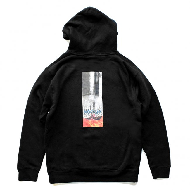 <img class='new_mark_img1' src='https://img.shop-pro.jp/img/new/icons5.gif' style='border:none;display:inline;margin:0px;padding:0px;width:auto;' />HOCKEY TUNABOY HOODIE / BLACK (ホッキー パーカー/スウェット)