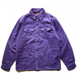 <img class='new_mark_img1' src='https://img.shop-pro.jp/img/new/icons5.gif' style='border:none;display:inline;margin:0px;padding:0px;width:auto;' />HELLRAZOR CORDUROY SHIRT JACKET / PURPLE (ヘルレイザー コーデュロイジャケット)