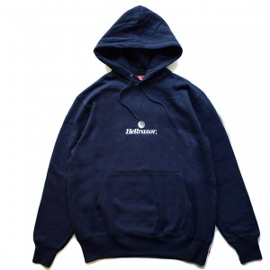 <img class='new_mark_img1' src='https://img.shop-pro.jp/img/new/icons5.gif' style='border:none;display:inline;margin:0px;padding:0px;width:auto;' />HELLRAZOR TRADEMARK LOGO HOODIE / NAVY (ヘルレイザー パーカー/フーディ)
