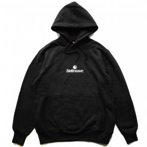 <img class='new_mark_img1' src='https://img.shop-pro.jp/img/new/icons5.gif' style='border:none;display:inline;margin:0px;padding:0px;width:auto;' />HELLRAZOR TRADEMARK LOGO HOODIE / BLACK (ヘルレイザー パーカー/フーディ)