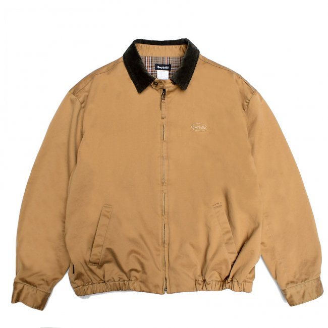 <img class='new_mark_img1' src='https://img.shop-pro.jp/img/new/icons5.gif' style='border:none;display:inline;margin:0px;padding:0px;width:auto;' />SAYHELLO CHECK LINER SWING TOP JACKET / KHAKI (セイハロー スウィングトップ/ジャケット)