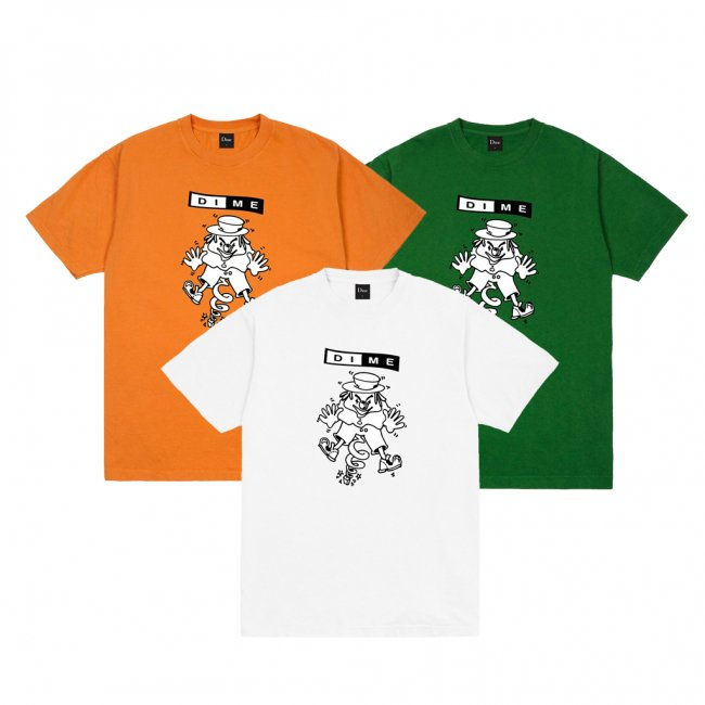 <img class='new_mark_img1' src='https://img.shop-pro.jp/img/new/icons5.gif' style='border:none;display:inline;margin:0px;padding:0px;width:auto;' />DIME SURPRISE T-SHIRT (ダイム Tシャツ / 半袖)