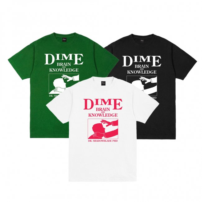 <img class='new_mark_img1' src='https://img.shop-pro.jp/img/new/icons5.gif' style='border:none;display:inline;margin:0px;padding:0px;width:auto;' />DIME EVAN T-SHIRT (ダイム Tシャツ / 半袖)