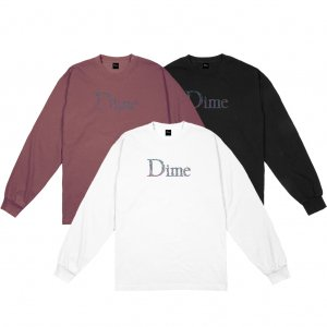 <img class='new_mark_img1' src='https://img.shop-pro.jp/img/new/icons5.gif' style='border:none;display:inline;margin:0px;padding:0px;width:auto;' />DIME SCRIBBLE CLASSIC LOGO L/S T-SHIRT (ダイム ロングスリーブTシャツ/ 長袖)