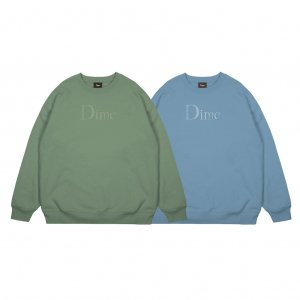 <img class='new_mark_img1' src='https://img.shop-pro.jp/img/new/icons5.gif' style='border:none;display:inline;margin:0px;padding:0px;width:auto;' />DIME CLASSIC LOGO CREWNECK / (ダイム クルーネック / スウェット)