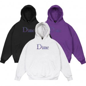 <img class='new_mark_img1' src='https://img.shop-pro.jp/img/new/icons5.gif' style='border:none;display:inline;margin:0px;padding:0px;width:auto;' />DIME SCRIBBLE CLASSIC LOGO HOODIE (ダイム パーカー / スウェット)