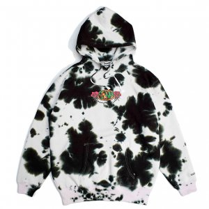 <img class='new_mark_img1' src='https://img.shop-pro.jp/img/new/icons5.gif' style='border:none;display:inline;margin:0px;padding:0px;width:auto;' />SAYHELLO HARD ROCK TIE DYE HOODIE / BLACK (セイハロー パーカー/スウェット)