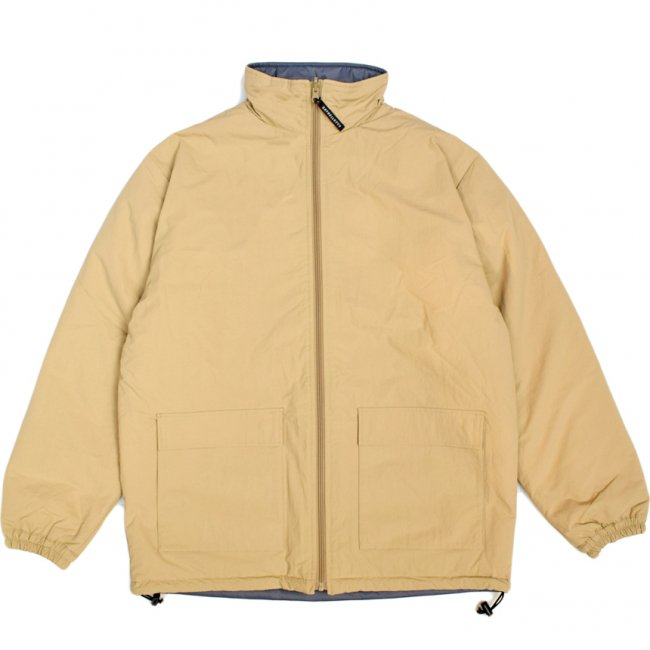 <img class='new_mark_img1' src='https://img.shop-pro.jp/img/new/icons5.gif' style='border:none;display:inline;margin:0px;padding:0px;width:auto;' />SAYHELLO REVERSIBLE JACKET / BEIGE×GREY (セイハロー コーデュロイジャケット/中綿ジャケット)