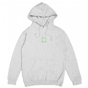 <img class='new_mark_img1' src='https://img.shop-pro.jp/img/new/icons5.gif' style='border:none;display:inline;margin:0px;padding:0px;width:auto;' />WKND EMBROIDERED LOGO HOODIE / HEATHER GREY (ウィークエンド フーディ/スウェットパーカー)