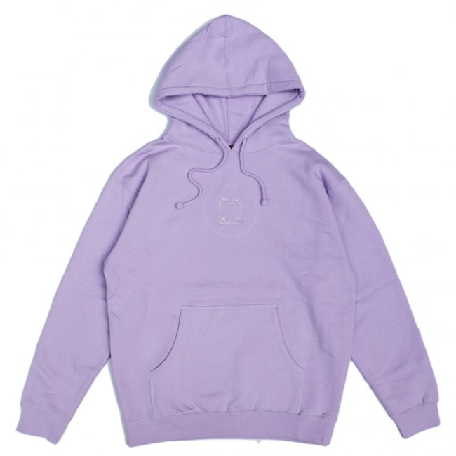<img class='new_mark_img1' src='https://img.shop-pro.jp/img/new/icons5.gif' style='border:none;display:inline;margin:0px;padding:0px;width:auto;' />WKND EMBROIDERED LOGO HOODIE / LAVENDER (ウィークエンド フーディ/スウェットパーカー)