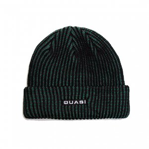 <img class='new_mark_img1' src='https://img.shop-pro.jp/img/new/icons5.gif' style='border:none;display:inline;margin:0px;padding:0px;width:auto;' />QUASI Tri Color Waffle Beanie / Multi  (クアジ ビーニー/ニットキャップ)