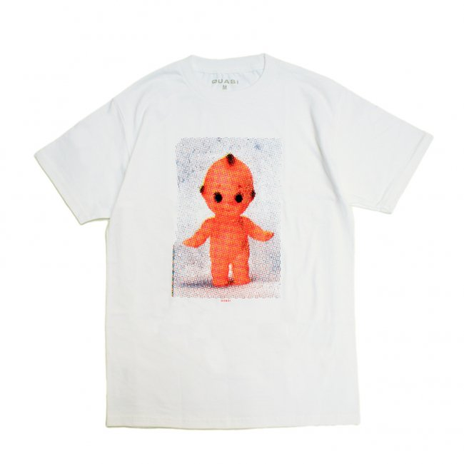 <img class='new_mark_img1' src='https://img.shop-pro.jp/img/new/icons5.gif' style='border:none;display:inline;margin:0px;padding:0px;width:auto;' />QUASI TRANCE TEE / WHITE (クアジ Tシャツ/半袖)